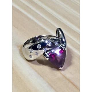 リモ様専用  プラチナ ガーネットリング(リング(指輪))
