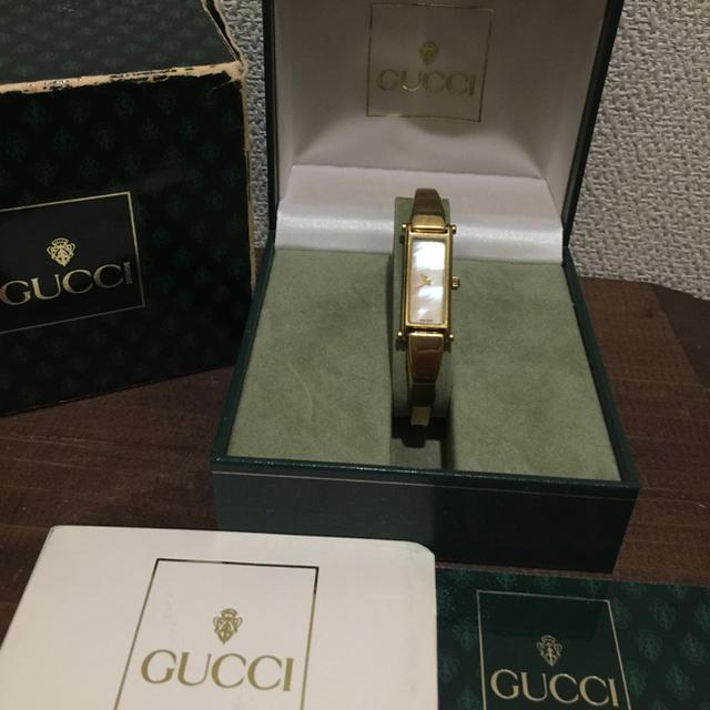 時計 偽物 店舗大阪 / Gucci - GUCCI ゴールド バングル シェル ブレスレットの通販 by 断捨離中♡ROO♪