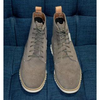 コールハーン(Cole Haan)の新品 COLE HAAN ZEROGRAND ウィングチップ ブーツ 28cm(ブーツ)