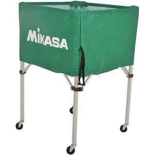 MIKASA - ミカサ ボールカゴ グリーン フレーム/幕体/キャリーケース3点セット BC-S