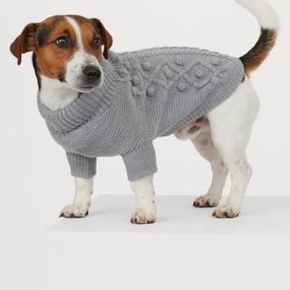 エイチアンドエム(H&M)のH&M ドッグセーター グレー(犬)