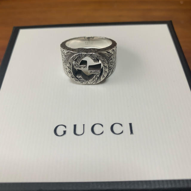 Gucci - GUCCI リングの通販 by n_b_belieber's shop