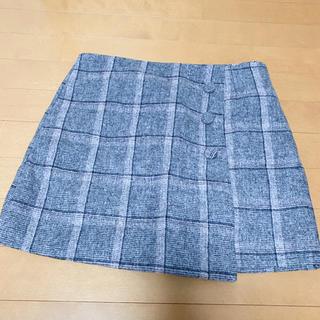 グレイル(GRL)のGRL チェック柄 スカート スカパン(ミニスカート)