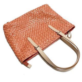 ギンザカネマツ(GINZA Kanematsu)の銀座かねまつ GINZA Kanematsu バッグ ハンドバッグ ピンク系 鞄(ハンドバッグ)