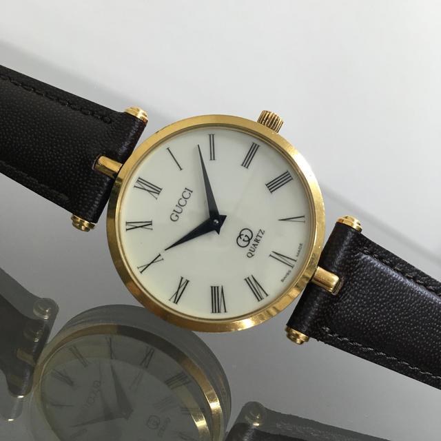 偽物 ブランド 財布 gucci - Gucci - GUCCI オールドグッチ シェリー レディース 腕時計の通販 by The Gallery's shop