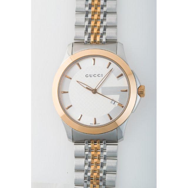 時計 偽物 比較 2014 - Gucci - GUCCI(グッチ) 腕時計 Gタイムレス 126.4 GP メンズ クオーツ の通販 by しましち's shop