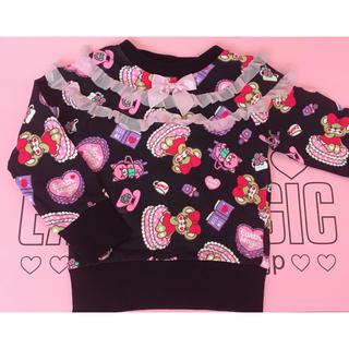 アースマジック(EARTHMAGIC)のマフィーズルーム総柄♡ 100(Tシャツ/カットソー)