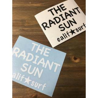 California ☆ Surf ステッカー THE RADIANT SUN(ステッカー)