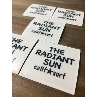 California ☆ Surf ステッカー THE RADIANT SUN(シール)
