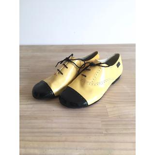 カンペール(CAMPER)のCAMPERカンペール/37/23-23.5cm/レザーシューズ/革靴/エナメル(ローファー/革靴)
