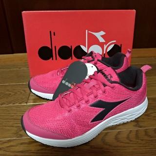 ディアドラ(DIADORA)のDIADRA 24cm ディアドラ ランニングシューズ 新品 ピンク スニーカー(スニーカー)