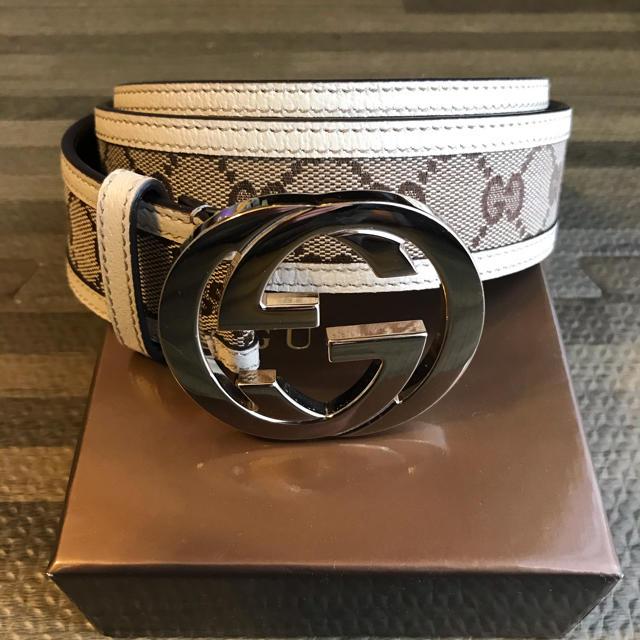 ルイヴィトン 長財布 偽物 見分けバッグ - Gucci - グッチ ベルトの通販 by Masaru's shop