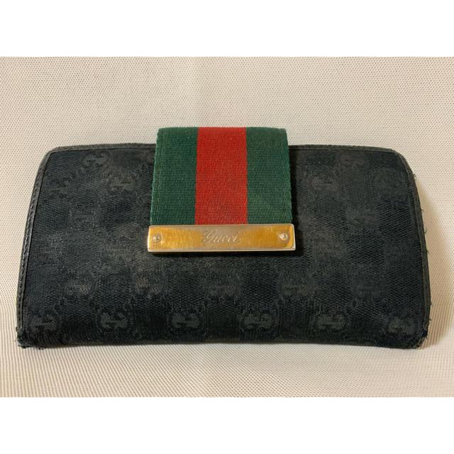 Gucci - グッチ キャンバス長財布の通販 by アロマ吉's shop