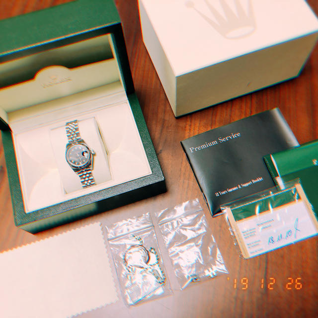 ROLEX - ロレックス、デイトジャスト、ブラック、10ポイントダイアモンドの通販 by TORA07♡R's shop