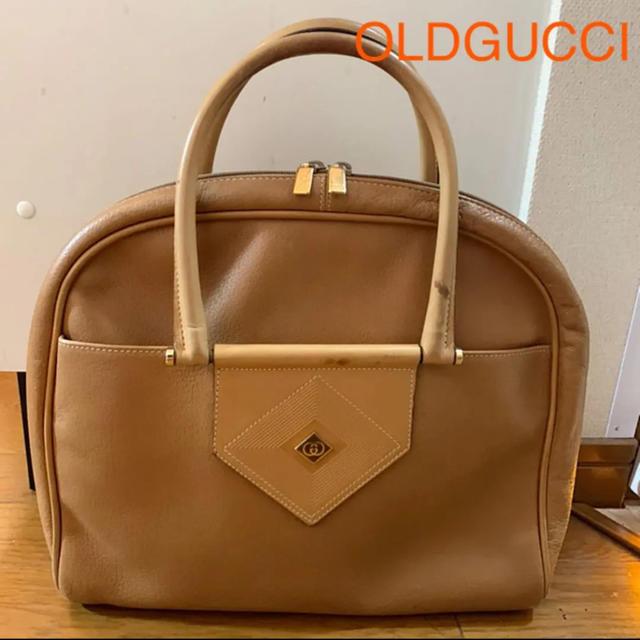 ルイヴィトン 時計 レプリカ rar / Gucci - OLD GUCCI A4 レザートート ハンドバッグ キャメル レアの通販 by jun's shop