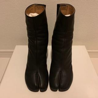 マルタンマルジェラ(Maison Martin Margiela)のMaison Margiela マルジェラ足袋(ブラック、サイズ39)(ブーツ)