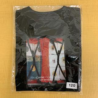 アイリーライフ(IRIE LIFE)の◆新品未使用◆irie life子供用Tシャツ 120サイズ ブラック(Tシャツ/カットソー)