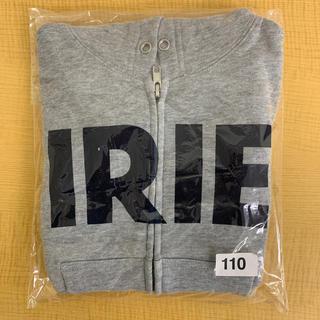 アイリーライフ(IRIE LIFE)の◆新品未使用◆irie life子供用ジップアップパーカー 110サイズ グレー(Tシャツ/カットソー)