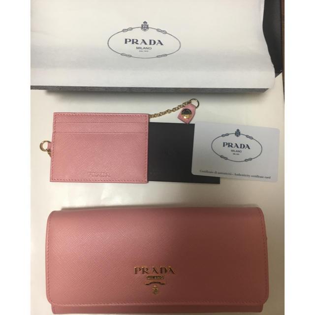 ブライトリング 時計 コピー 売れ筋 、 PRADA - プラダ  サフィアーノ ライトピンクの通販 by ゆきうさぎ's shop