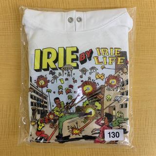 アイリーライフ(IRIE LIFE)の◆新品未使用◆irie life子供用パーカー 130サイズ ホワイト(Tシャツ/カットソー)