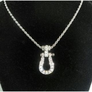 フレッド(FRED)の高品質 人口ダイヤ!! FRED フォース10 model ネックレス(ネックレス)