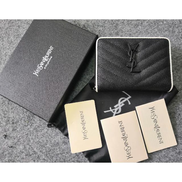 Saint Laurent - 人気♥素敵 Y.S.Lサンローラン 折り財布 正規品 刻印の通販 by 洋服の青山