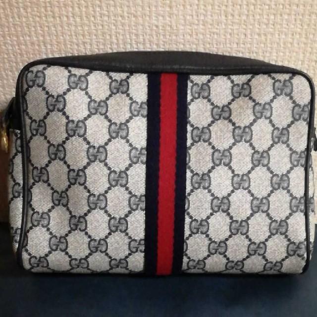 カルティエ ダイバーズ | Gucci - オールド GUCCI シェリーライン ネイビーの通販 by u-'s shop