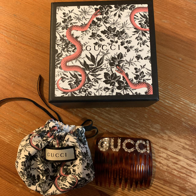 Gucci - 確実正規品 gucci ヘアコームの通販 by しょっぷ ♡