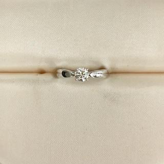 ティファニー(Tiffany & Co.)のティファニー ハーモニーリング Pt950 0.24ct H VVS-1 3EX(リング(指輪))