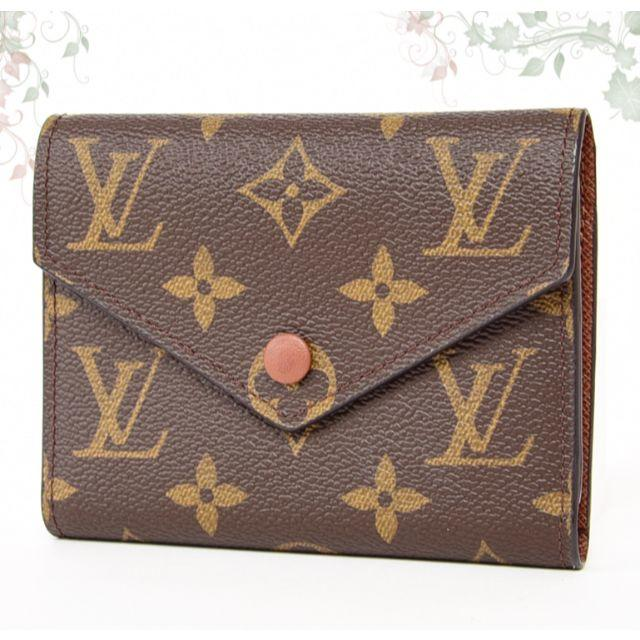 LOUIS VUITTON - 未使用♡ルイヴィトン ヴィクトリーヌ コンパクト 折り財布♡モノグラム ミニ小型の通販 by たまごのお店🌈