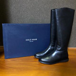 コールハーン(Cole Haan)の Cole Haan コールハーン ロングブーツ ブラック(ブーツ)