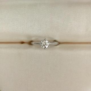 ティファニー(Tiffany & Co.)のティファニー ダイヤモンドリング Pt950 0.34ct I VS-1 3EX(リング(指輪))