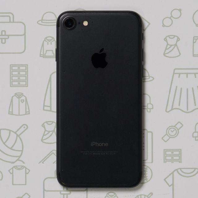 iPhone(アイフォーン)の【公式】iPhone7/32GB/Black/SIMフリー スマホ/家電/カメラのスマートフォン/携帯電話(スマートフォン本体)の商品写真
