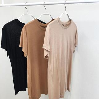 エディットフォールル(EDIT.FOR LULU)のBASERANGE  バンブー Tシャツ(Tシャツ(半袖/袖なし))
