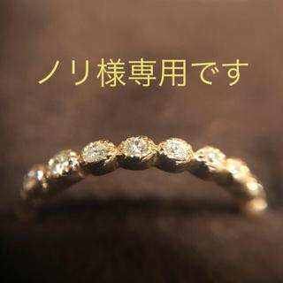 アガット(agete)のagate ピンキーリング 1号 10k ダイヤモンド(リング(指輪))