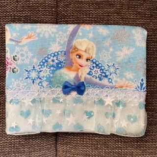 アナトユキノジョオウ(アナと雪の女王)のアナ雪 移動ポケット アナと雪の女王 ハンドメイド ディズニー プリンセス(外出用品)