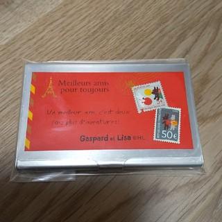 リサとガスパール カードケース(キャラクターグッズ)