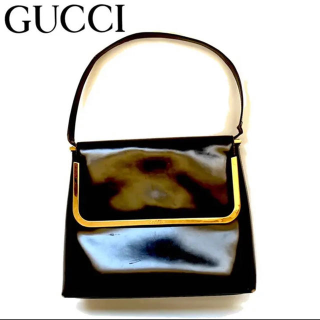 ルイヴィトン 財布 偽物 574 、 Gucci - GUCCI グッチ ワンハンド ハンドバッグ エナメルレザー 金具の通販 by ayaringo's shop