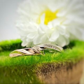 【即日発送  箱つき】2個セット カップル ペアリング シルバーリング 指輪1♥(リング(指輪))