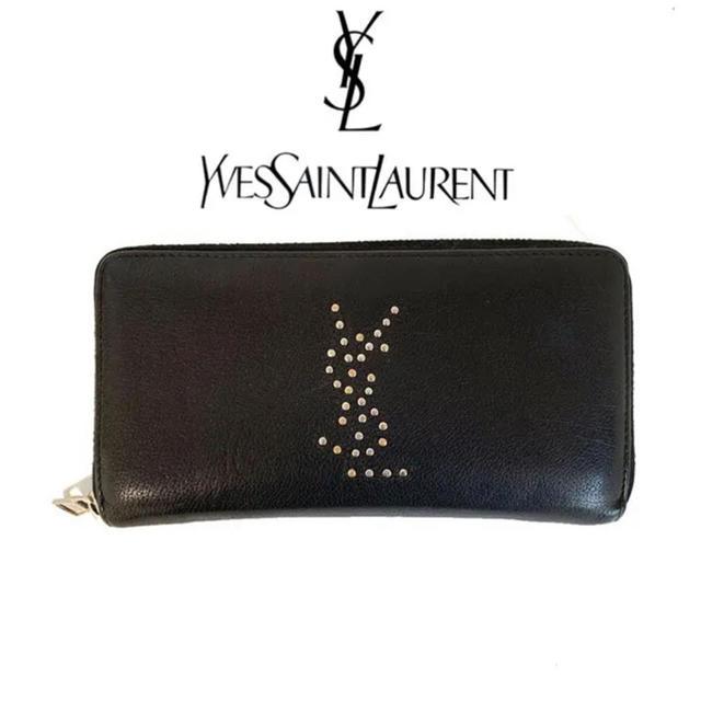 スーパーコピー 時計 優良店スロット - Saint Laurent - YvesSaintLaurent イブサンローラン スタッズ ラウンド 長財布の通販 by ayaringo's shop