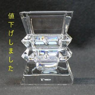 バカラ(Baccarat)のバカラ コロンビーヌ 2-100-928 ベース (花瓶)(花瓶)