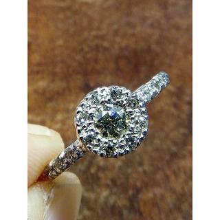 使いやすい!素敵なデザイン!750ダイヤリング 14.5号(リング(指輪))