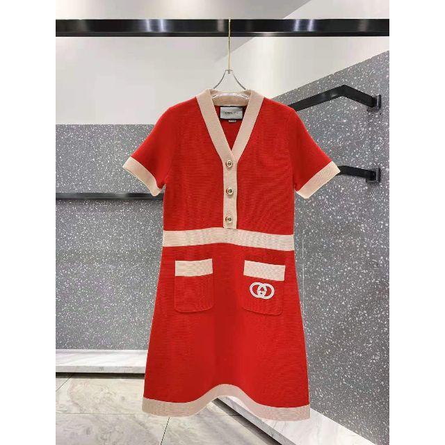 パネライ ロゴ 、 Gucci - GUCCI 新作 インターロッキングG ドレスの通販 by みながわりの's shop