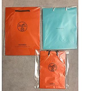 Tiffany & Co. - 【ブランド紙袋】エルメス &ティファニー 合計3袋・送料込み