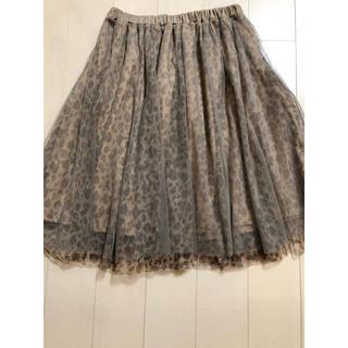 ハニーズ(HONEYS)のハニーズ チュールスカート(ひざ丈スカート)