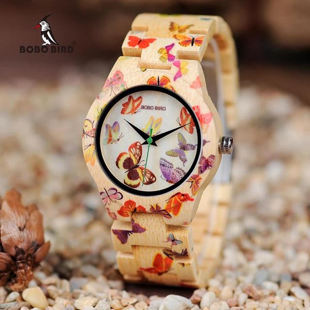 chanel 時計 通販 、 BOBOBIRD ボボバード レディース 腕時計 バタフライ 蝶 *箱付きの通販 by モモSHOP