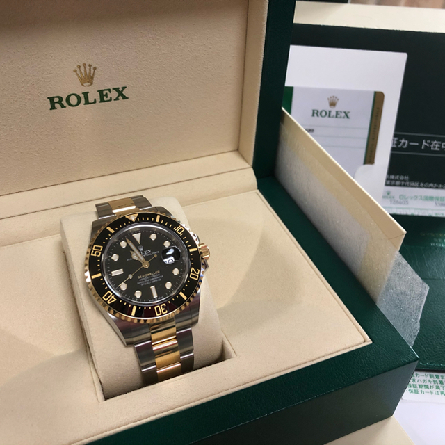 カルティエ 時計 モデルチェンジ / ROLEX - 国内正規ロレックスシードゥエラーコンビ・126603未使用品の通販 by ユウチャン5190's shop