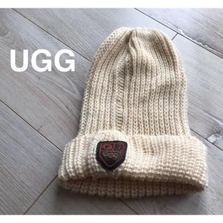 アグ(UGG)の美品!UGG アグ★ニット帽★(ニット帽/ビーニー)