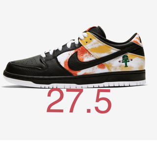 ナイキ(NIKE)のNIKE SB DUNK LOW RAYGUN TIE-DYE BLACK(スニーカー)