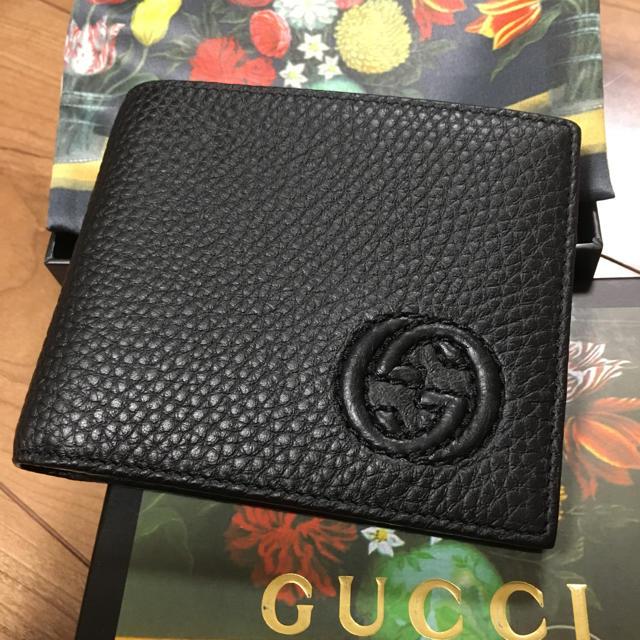 ルイヴィトン ベルト 偽物 見分け方 、 Gucci - GUCCI 折り畳み財布 二つ折り財布 財布の通販 by Kumasan's  shop
